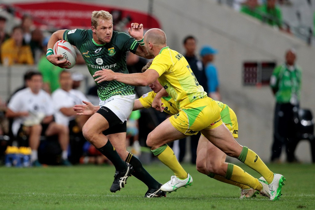 Hosts South Africa among unbeaten sides after first day of Rugby Sevens
