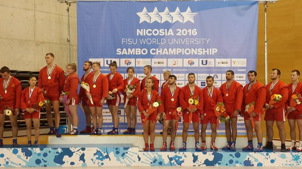 Russia claim mixed team title as World University Sambo Championships come to an end