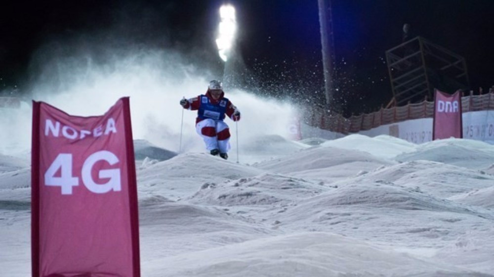 Mikael Kingsbury won the men's event in Ruka ©FIS
