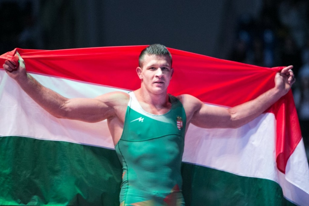 Korpasi delights home crowd with victory at Wrestling World Championships for non-Olympic weights