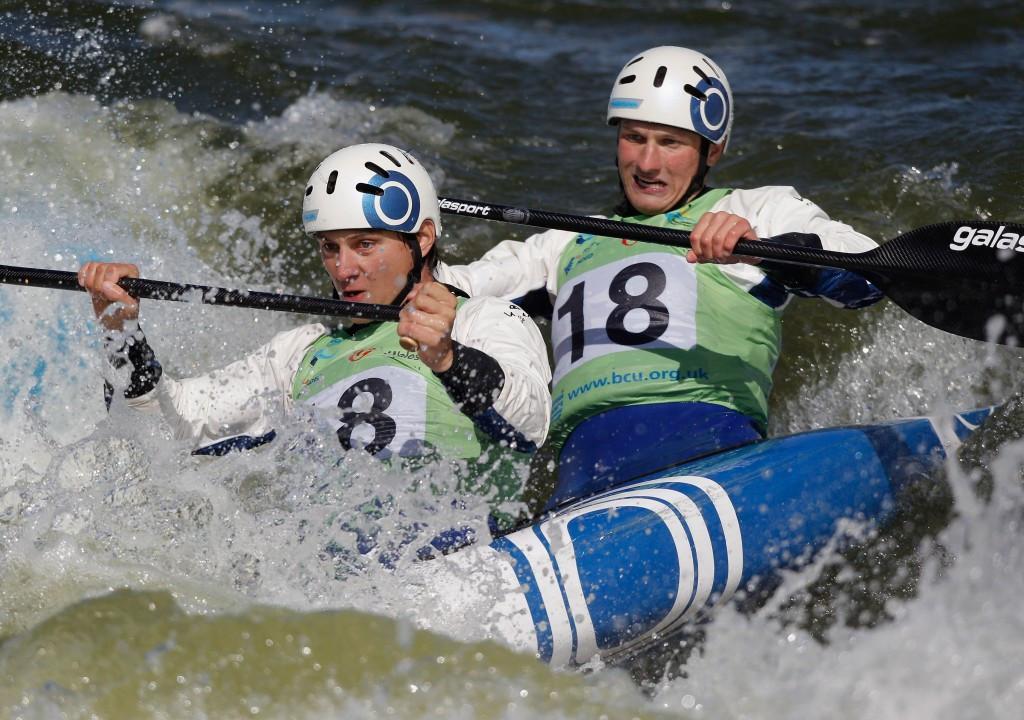 The Czech Republic's Jonas Kaspar and Marek Sindler earned their maiden C2 World Cup win