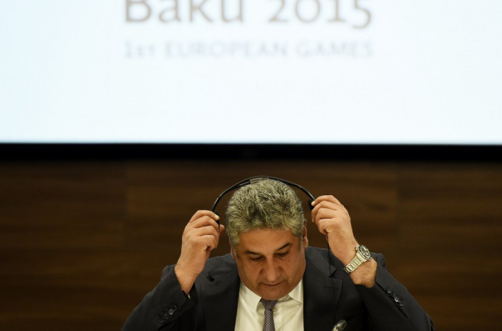 Azad Rahimov provided a strong defence of the success of the inaugural European Games here today ©Getty Images