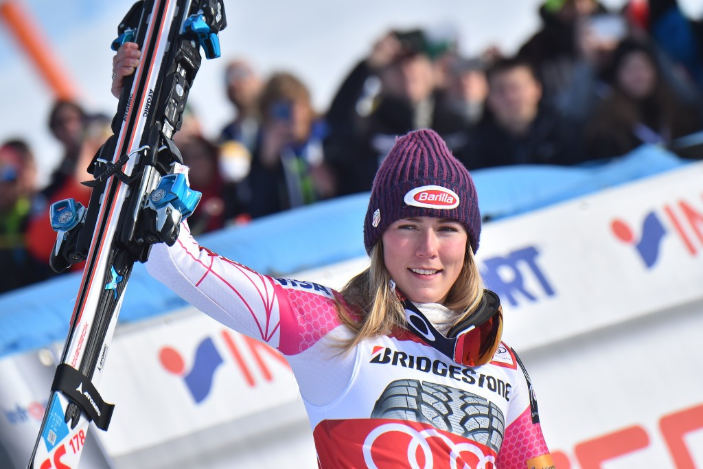 Shiffrin moves closer to FIS World Cup history with slalom win in Sestriere