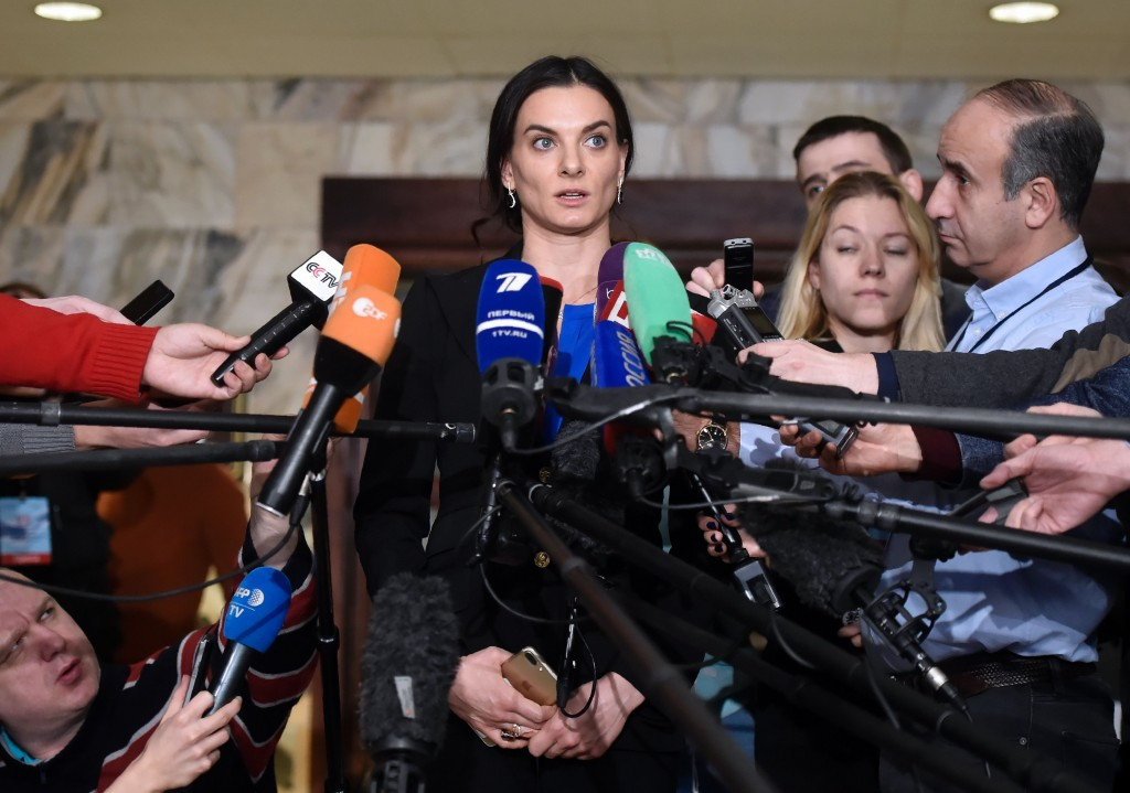 Yelena Isinbayeva claims that Russia has done enough to be re-admitted to international competition by the IAAF ©Getty Images