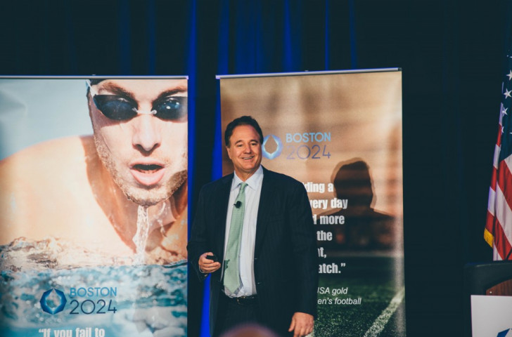 Steve Pagliuca has spoken optimistically about the revamped Boston 2024 proposals ©Boston 2024