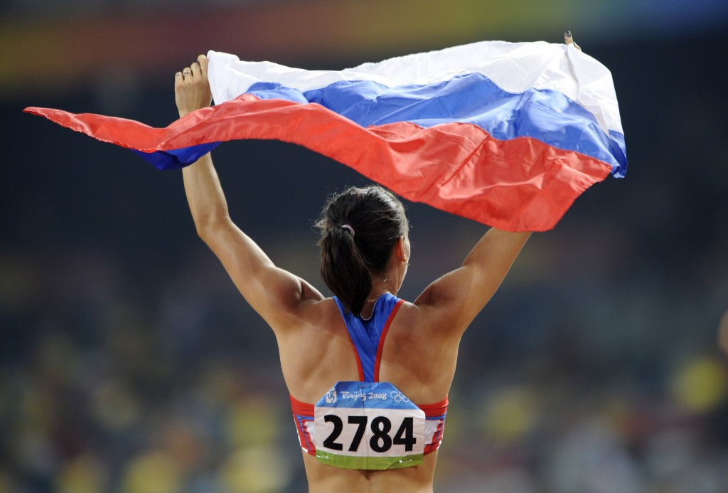 Yelena Isinbayeva has won two Olympic gold medals, at Athens in 2004 and Beijing 2008 ©Getty Images