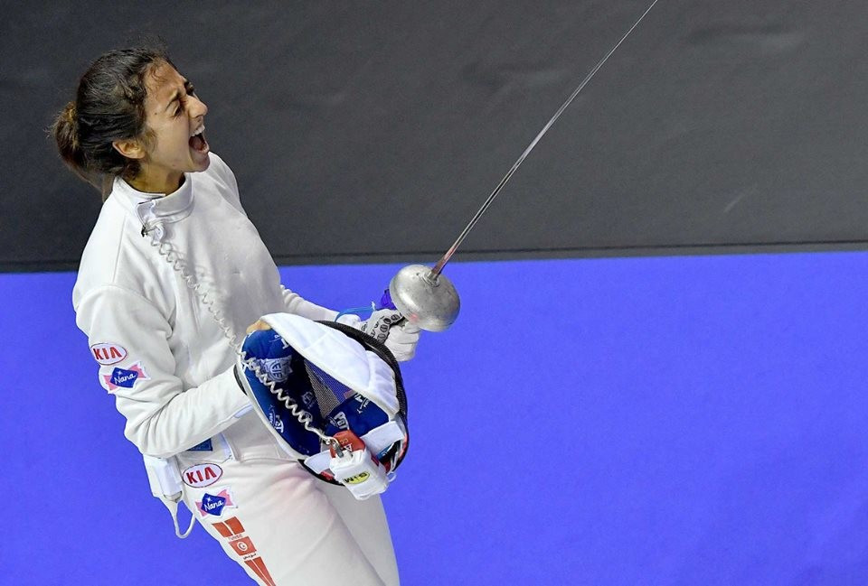 Tunisia's Besbes takes top honours in women's event at FIE Doha Épée Grand Prix