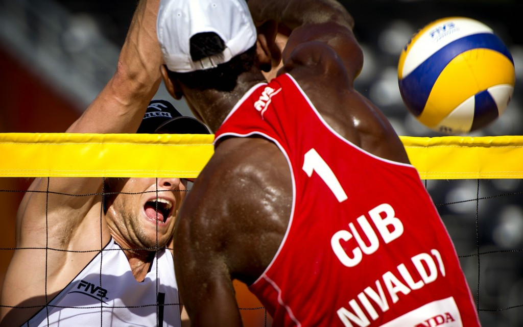 Cuba claim shock win at FIVB Beach Volleyball World Championships in The Netherlands