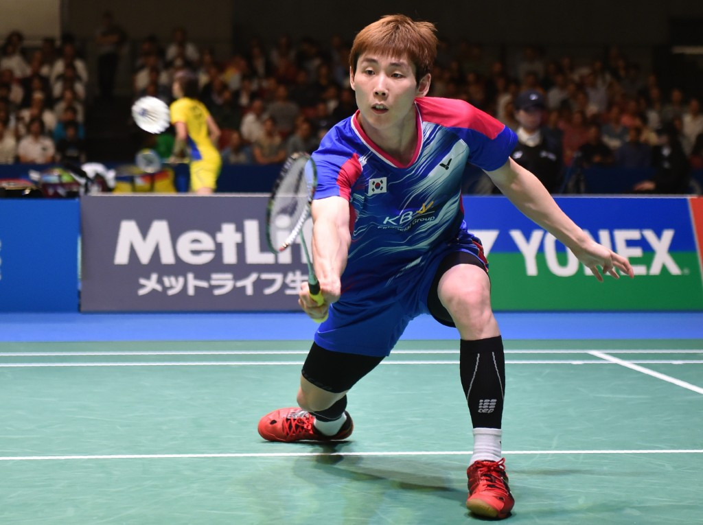 Son warms up for Dubai World Superseries Finals with victory at BWF Korean Masters