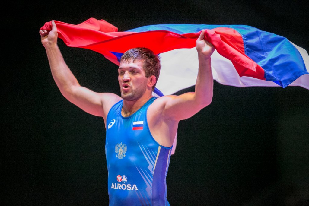 Kurbanaliev claims maiden global crown at Wrestling World Championships for non-Olympic weights