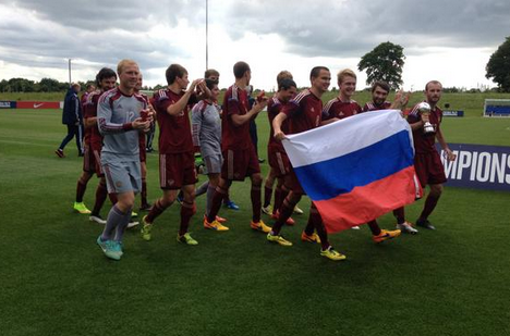 Russia beat Ukraine to win Cerebral Palsy Football World Championship title