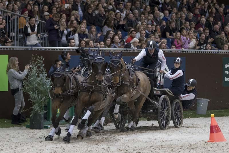 Exell continues Geneva dominance with ninth consecutive FEI Driving World Cup win in Swiss city