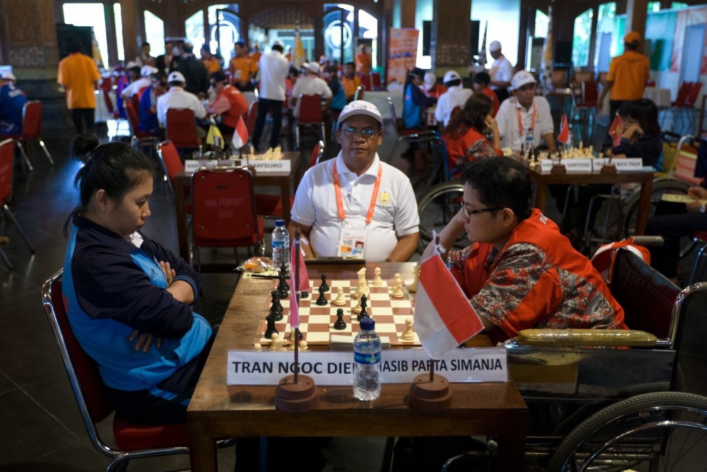 Chess has been confirmed as one of the sports at the ninth ASEAN Para Games due to be held in Kuala Lumpur next year ©APSF