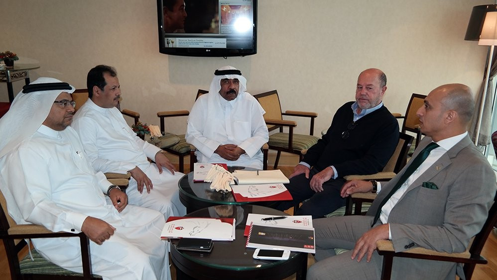 WKF President Espinós heads meeting to discuss preparations for 2017 Karate1 Premier League event in Dubai