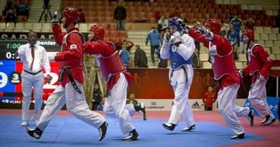 The WTF World Taekwondo Team Championships began in Baku today ©WTF