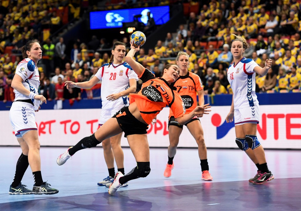 The Netherlands proved too strong for Serbia in Gothenburg ©Getty Images