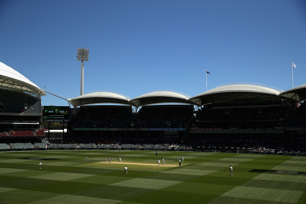 The Adelaide Oval will play host to the first day-night Ashes Test match between Australia and England ©Getty Images