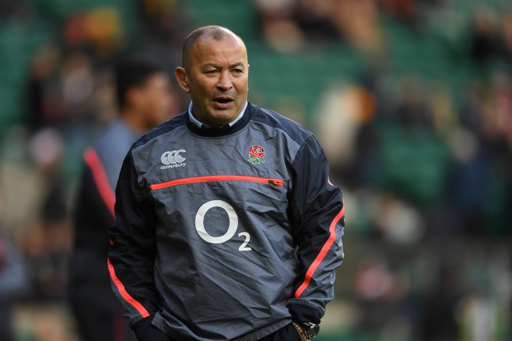 England rugby union coach Eddie Jones has discussed Tokyo 2020 preparations with the BOA ©Getty Images