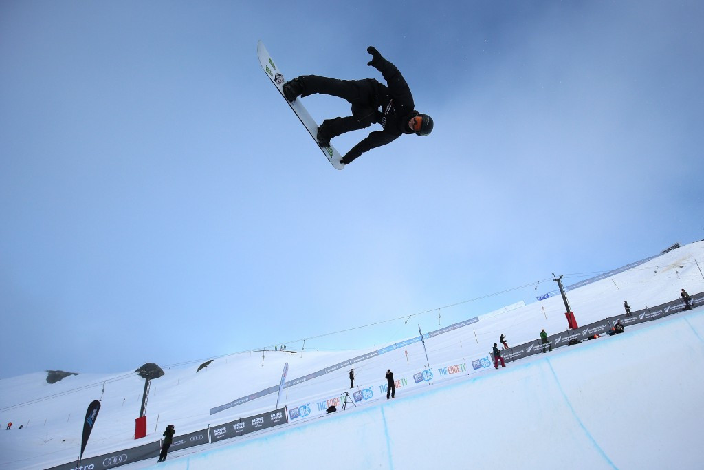 Iouri Podladtchikov of Switzerland will be competing in the superpipe event ©Getty Images