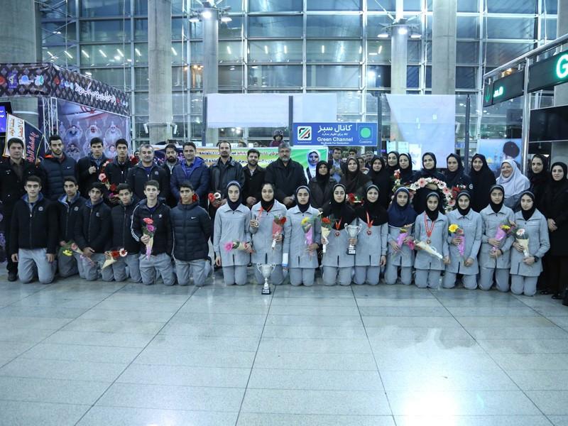 Chungwon Choue has praised the performance of Iranian players at the WTF World Junior Taekwondo Championships last month ©Iran Taekwondo Federation
