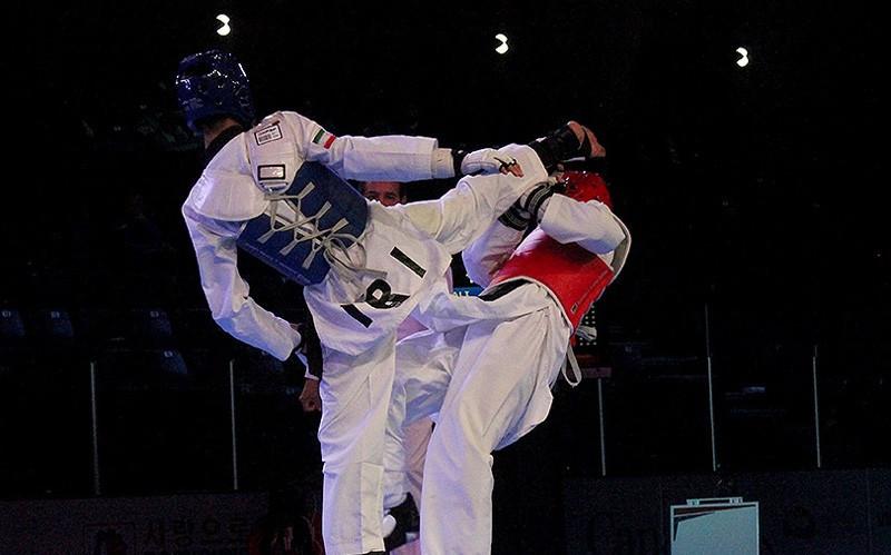 Iran claimed seven medals at the Championships in Burnaby ©Iran Taekwondo Federation