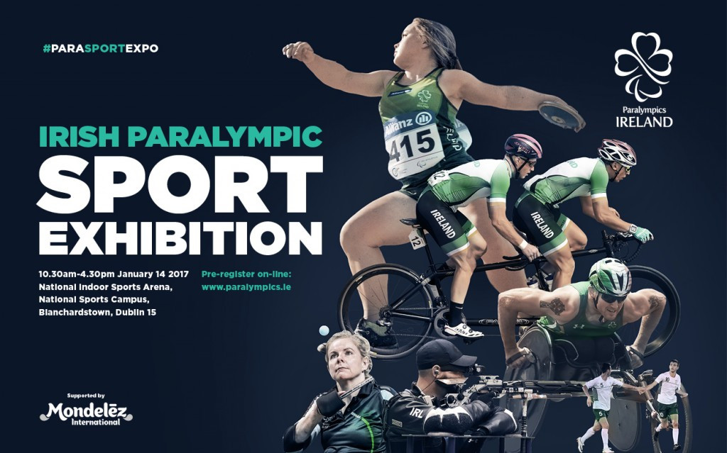 Paralympics Ireland partner with Mondelez International to hold one-day Paralympic Sport Expo