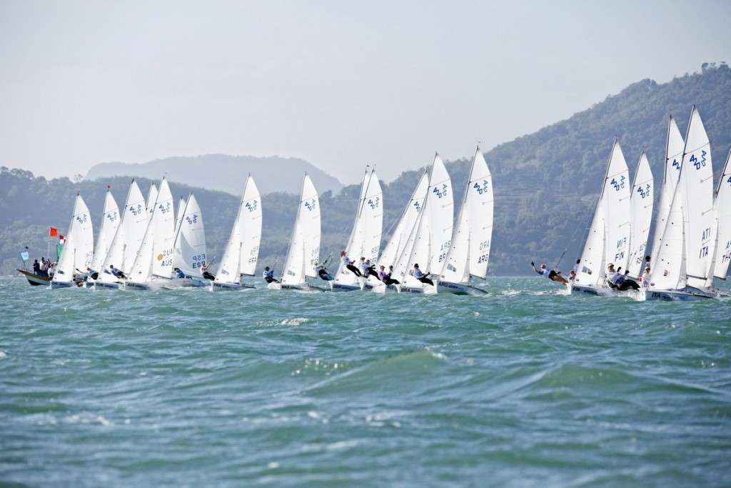 Twin sisters carry New Zealand hopes at 2016 Youth Sailing World Championships