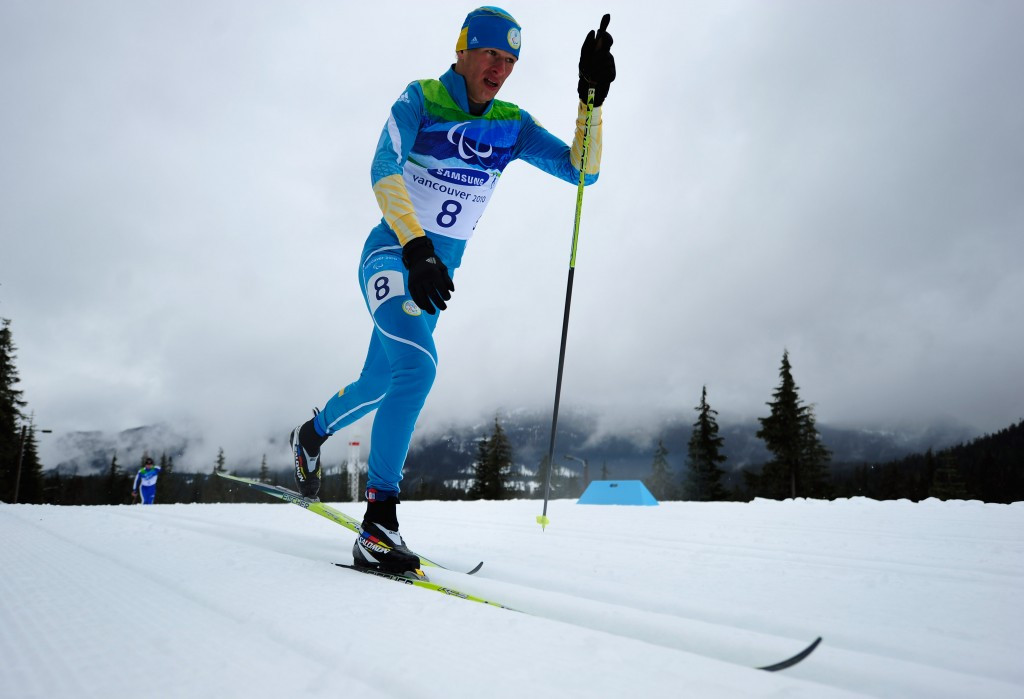 Vovchynskyi and Reptyukh lead Ukrainian charge in biathlon relay at IPC Para Nordic Skiing World Cup