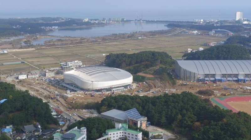 It marks the first ice venue to be completed in time for the 2018 Games ©Pyeongchang 2018