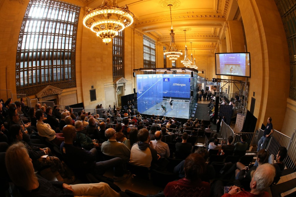 Grand Central Terminal in New York is set to play host to the first J.P Morgan Tournament of Champions in January ©PSA
