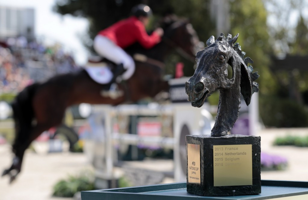 Barcelona will host the Nations Cup Jumping Final for a fifth straight year ©FEI