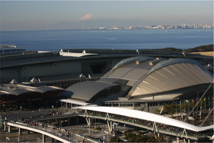 Makuhari Messe is due to host fencing, taekwondo and wrestling during Tokyo 2020 ©Getty Images