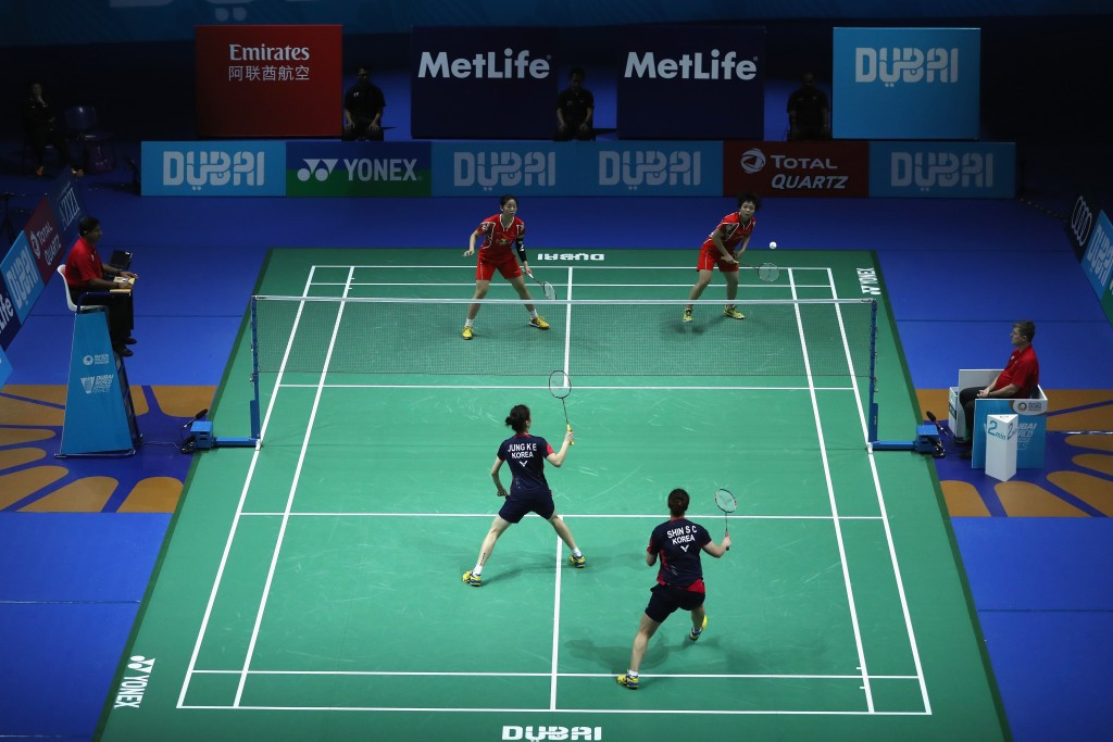 Dubai World Superseries Finals: Day one of competition