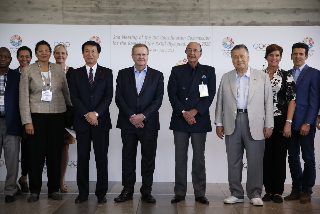 The visit to inspect Makuhari Messe came at the second visit of the International Olympic Committee's Coordination Commission to inspect preparations for Tokyo 2020