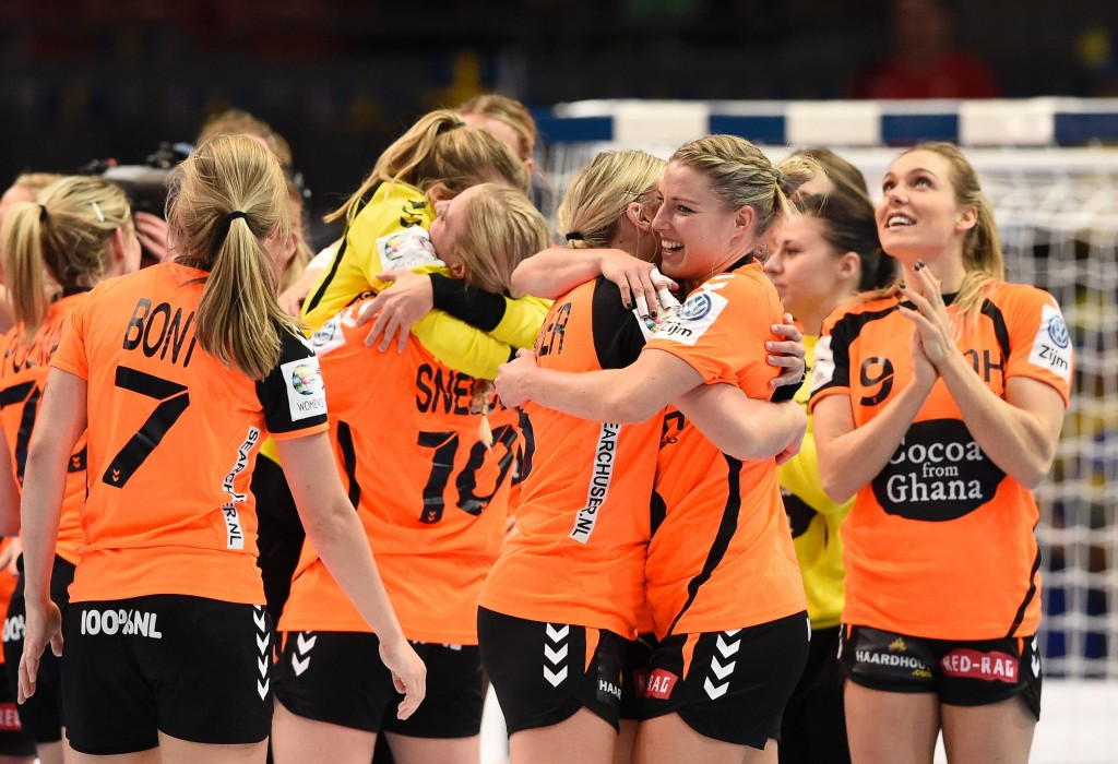 The Netherlands secured a first ever semi-final spot at the European Women's Handball Championships ©Getty Images