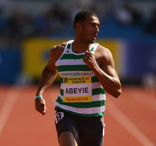 Former Team GB sprinter Tim Abeyie was among the latest batch of 19 athletes sanctioned for doping offences by the IAAF ©Getty Images