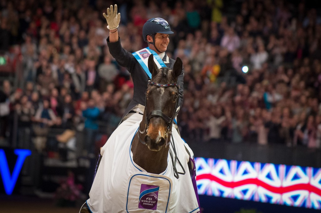 Home favourite Hester wins fifth leg of FEI World Cup Dressage at London Olympia as Valegro bows out
