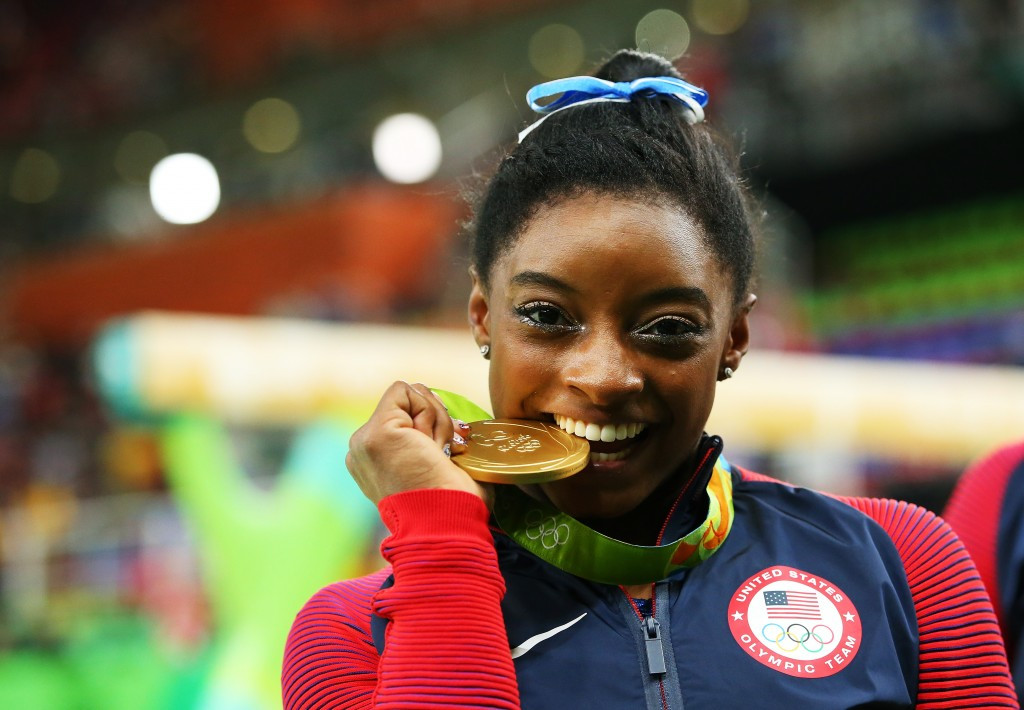 Sports fans will be able to watch the likes of gymnastics superstar Simone Biles in action ©Getty Images