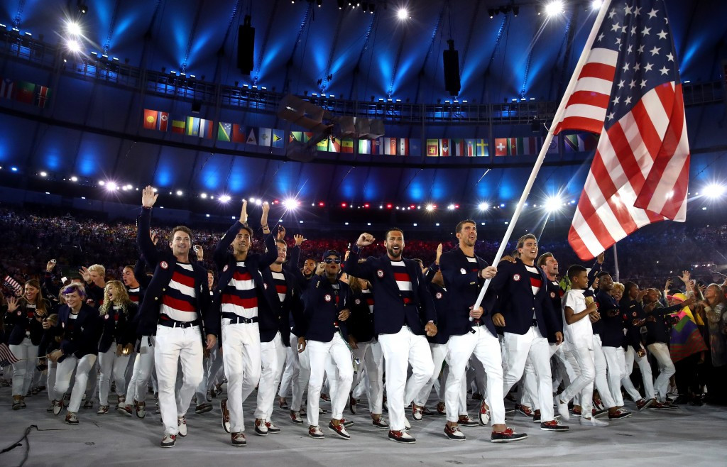 United States won a total of 121 medals at the Rio 2016 Olympic Games, including 46 golds ©Getty Images