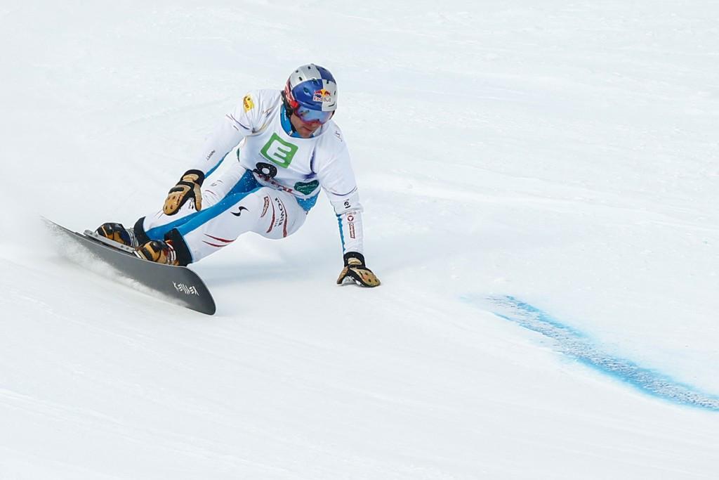 Austrians Karl and Meschik win opening legs of FIS Alpine Snowboard World Cup season