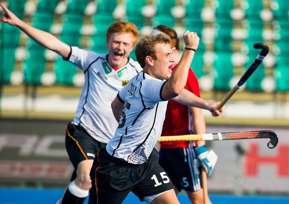 Holders Germany beat England to set up semi-final clash with Belgium at Men's Junior Hockey World Cup