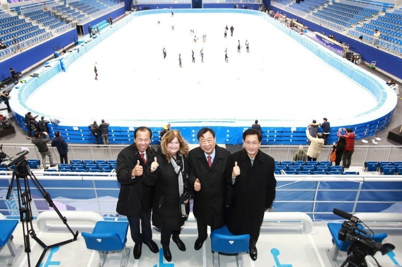 A total of 23 test events will be done inside the arena before the 2018 Winter Olympics starts ©Getty Images