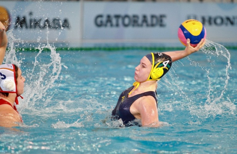 Australia have the opportunity to finish ninth in the World Women's Youth Water Polo Championships ©FINA