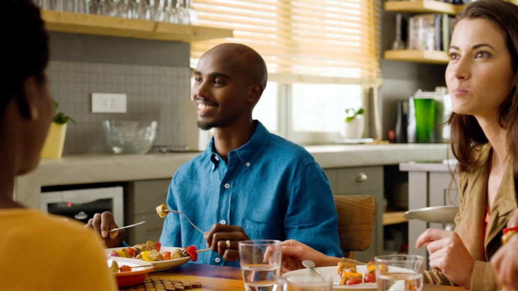Mo Farah may not have been on anything stronger than the Quorn, the meat-free meals he advertises