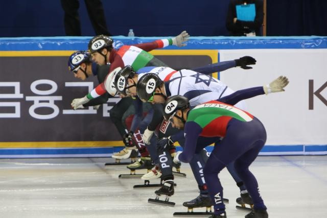 Gangneung Ice Arena opens with ISU Short Track Speed Skating leg
