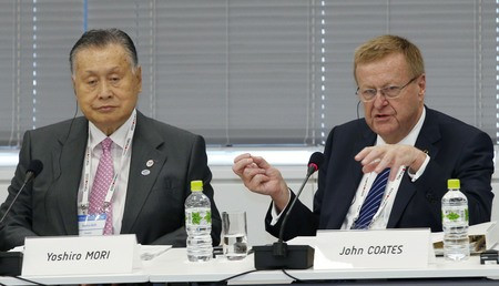 John Coates, chairman of the Tokyo 2020 IOC Coordination Commission, praised the early preparations of the Japanese capital ©Getty Images