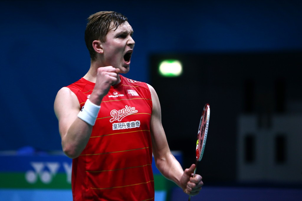 Axelsen beats world number one Lee for first time to reach last four of BWF Dubai World Superseries Finals