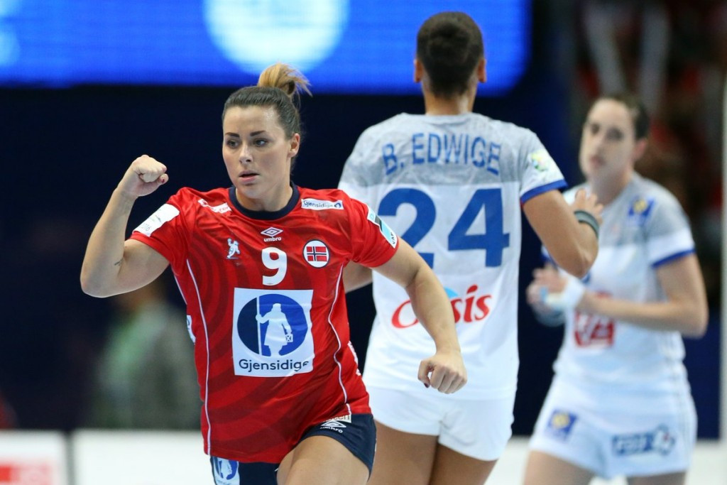 Norway beat Olympic silver medallists to reach eighth consecutive European Women's Handball Championships final