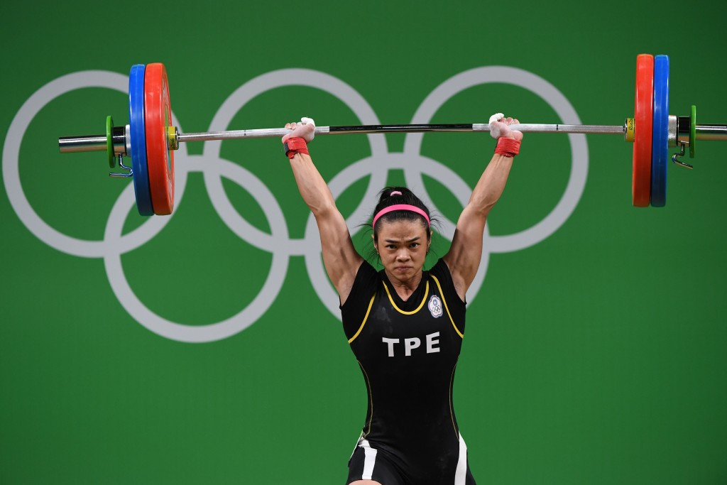 Chinese Taipei's Hsu Shu-ching won women's 53kg weightlifting gold at the Rio 2016 Olympic Games ©Getty Images
