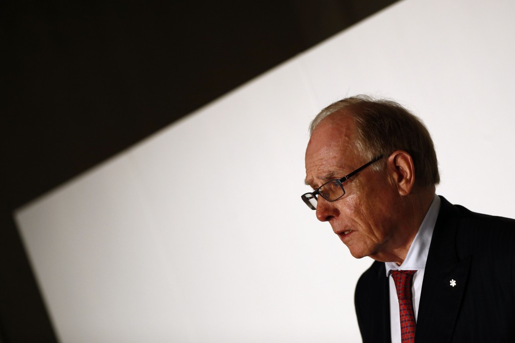 Richard McLaren revealed over 1,000 Russian athletes were implicated in the state-sponsored doping system ©Getty Images
